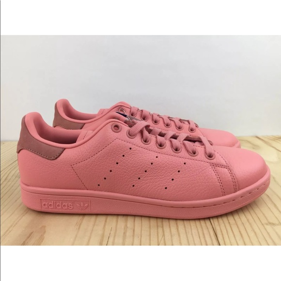 10c5734d6ddc Adidas Originals Stan Smith Rose Raw Pink Size 11